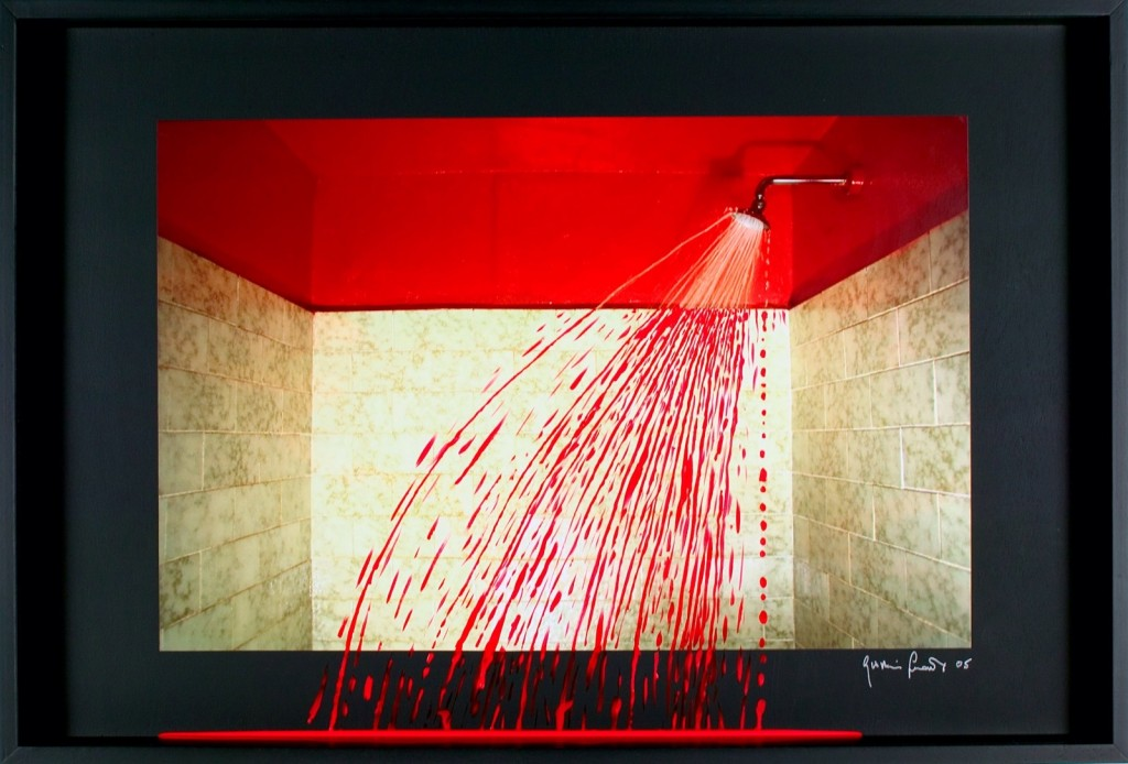 red-shower